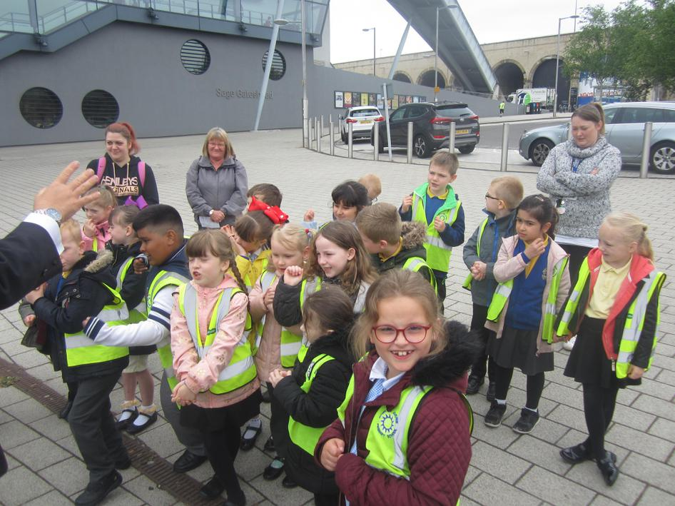 We learned about the Great Fire of Gateshead.