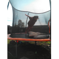 She has also been on her trampoline.