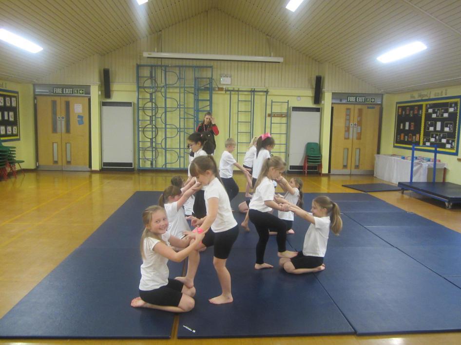 Yr3 Gymnastics