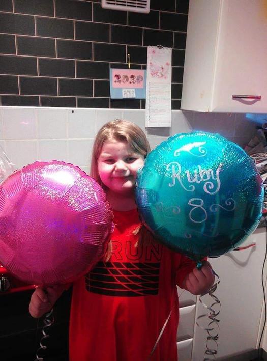 Happy 8th Birthday Ruby!