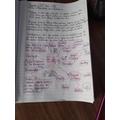 Gabi's PSHE+C Work on Bullying