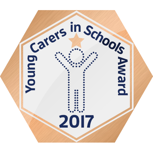 We have successfully achieved the Bronze Award for Young Carers in School
