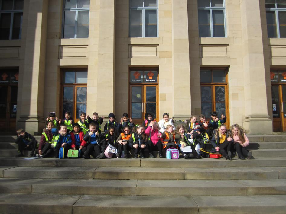 Year 4 at the Hancock Museum
