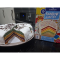 George's Rainbow Cake! Nom Nom!!!
