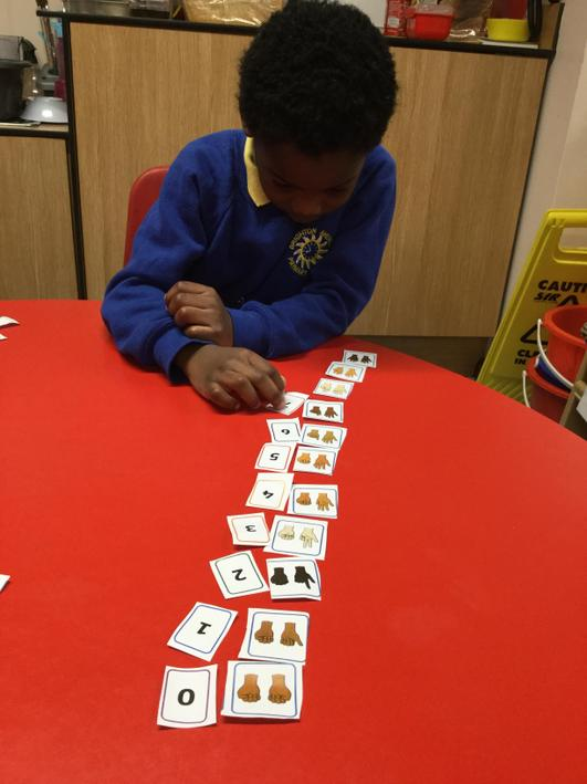 We matched different amounts.
