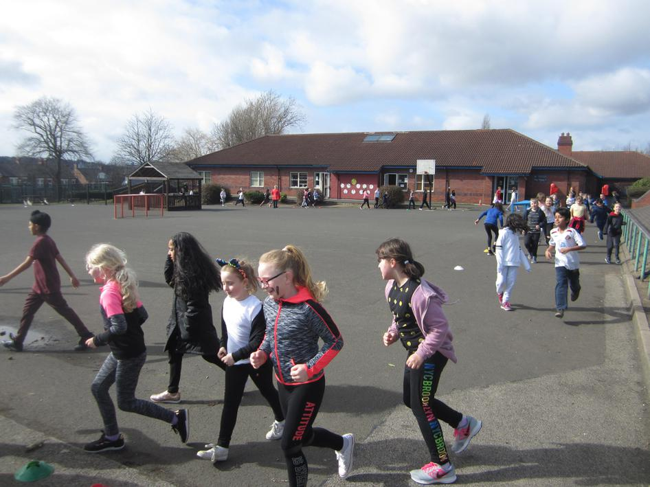 Brighton Avenue Sport Relief Fun Run