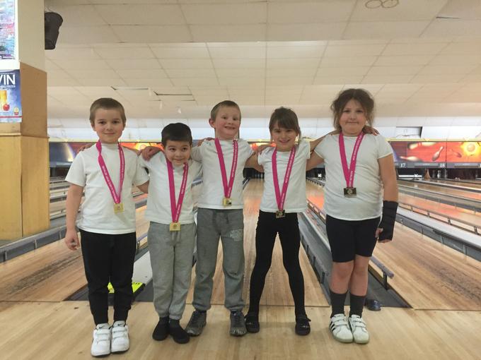Year 2 Bowling Winners 2017