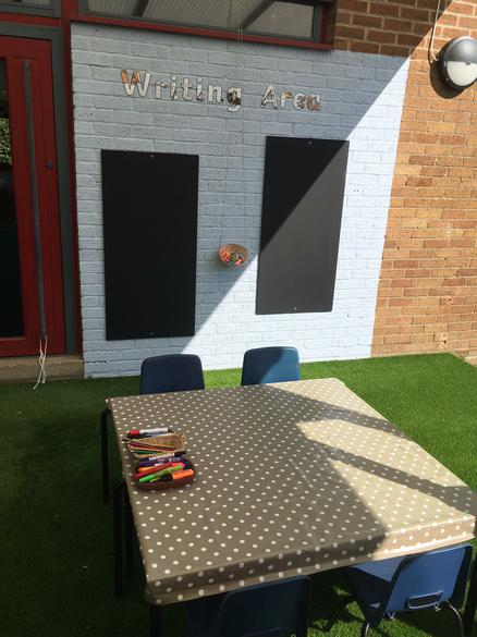 Outdoor Writing Area