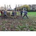 D&T - Viking longhouse construction