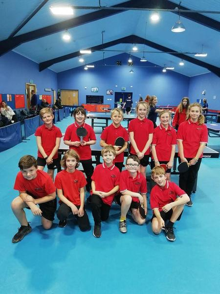 Hunts Table Tennis Festival/Competition; amazing effort by all children involved. Brington players came 1st, 2nd and 3rd demonstrating some incredible skills!