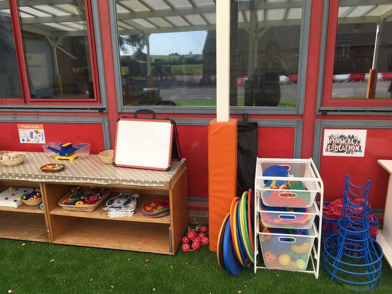 Outdoor PE Area