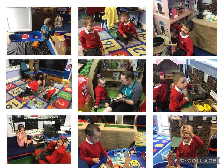 we enjoyed our new classroom