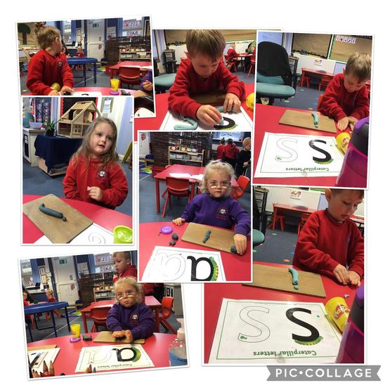 Learning our letter sounds