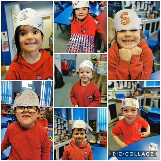 We have enjoyed learning out letter sounds
