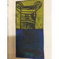 Year 2 - Press printing inspired by their Great Fire of London theme