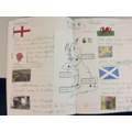 Year 2 - Double page spread about he countries of the UK