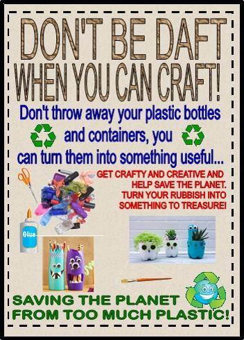 Don't be daft when you can craft!