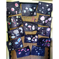 Reception - Painting Techniques, linking with the theme of Space
