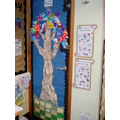 Reception - Creating their own Giving Tree!