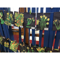 Reception - Painting Techniques, linked to the theme of Growing and Changing