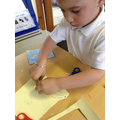 Joining materials  using tape