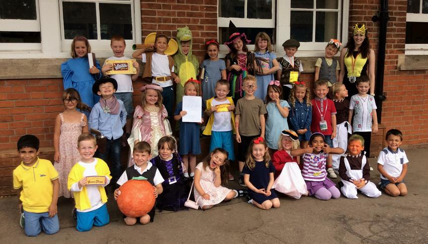 We dressed up for Roald Dahl day!