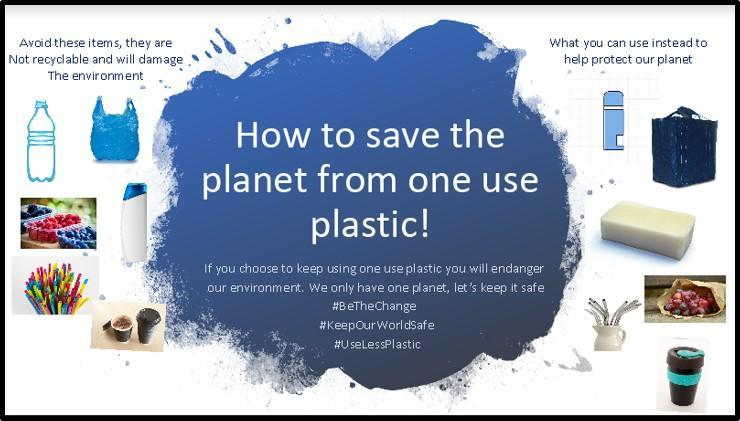 How to save the planet from one use plastic!