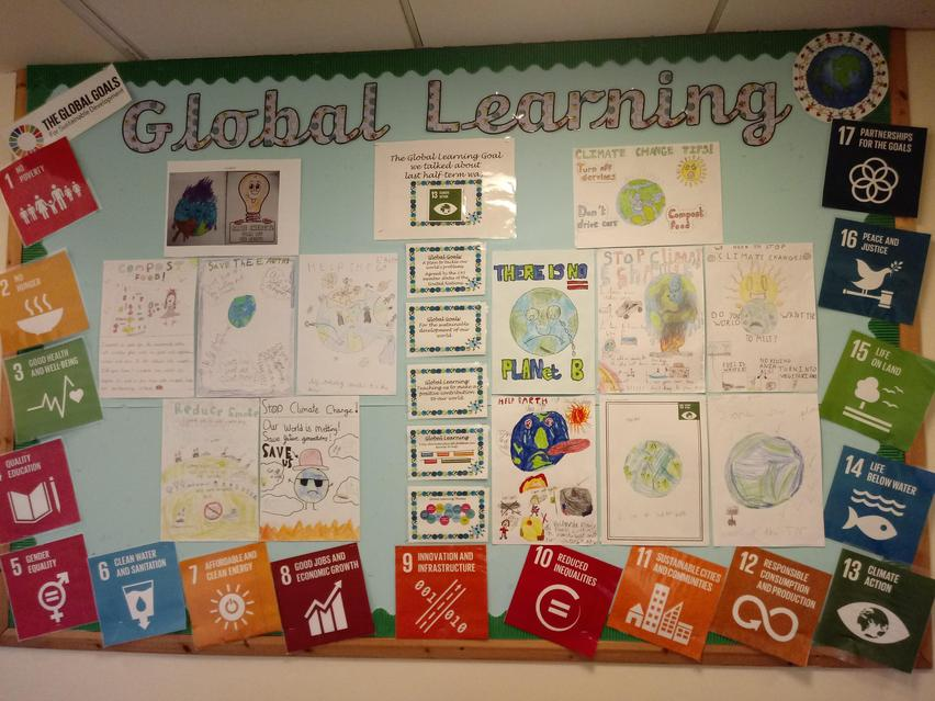 Global Learning Display Board