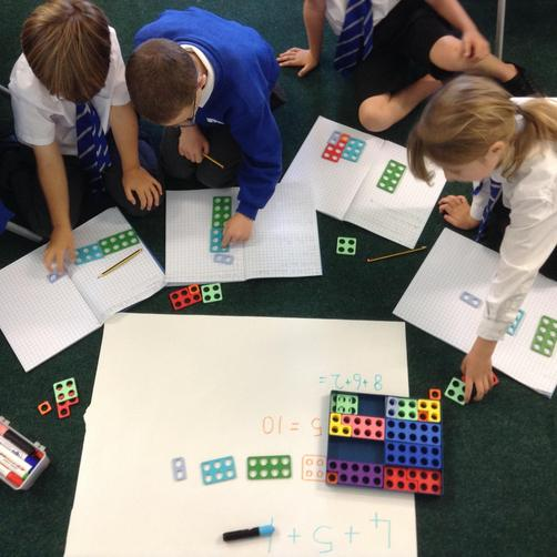 Adding three numbers efficiently.