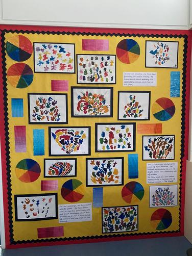 ART - Matisse inspired colour mixing and painting