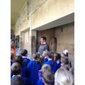 We met a real life Roman.