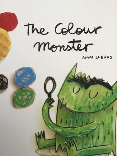 """We read the story """"The Colour Monster"""" and discussed different emotions."""