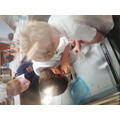 Willow class have been investigating how rocks can be affected by the weather by erosion