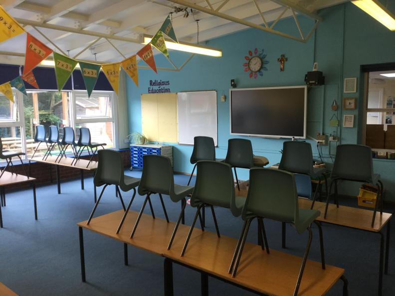 Year 3 and 4 Classroom