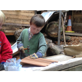 Using tools in forest school