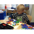 Playing and experimenting with Numicon