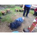 'It was funny hugging Alisha's feet' - Lily