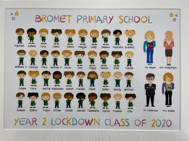 Year 2 Photo from the children and parents.