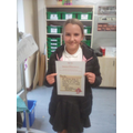 For being a fantastic role model and a great member of school council.