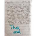 Una, Bertie, Oscar and Cora wrote a story!