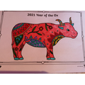 Year of the Ox - Colouring In