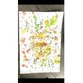 Art - Action Art Jackson Pollock Style
