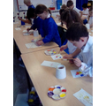 Mixing Primary colours to Make Secondary Colour