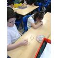 Building a triangular based pyramid.