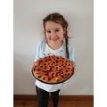 Sienna has been baking