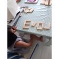 Eva's been busy