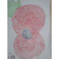 Pointillism artwork.