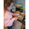 Isabell has been busy cooking