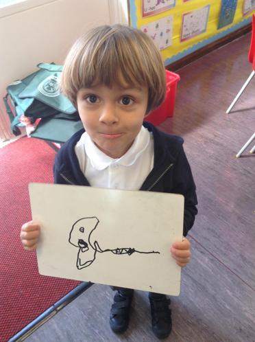 Hari drew silent ghost!