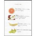 Anna describing fruits!